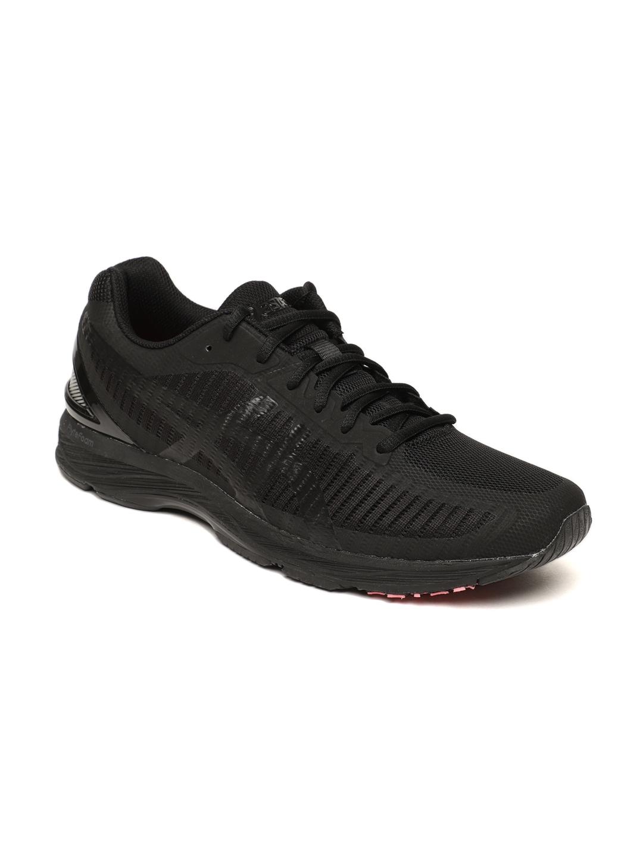 buy popular d2027 f3f34 ASICS Men Black GEL-DS TRAINER 23 Running Shoes