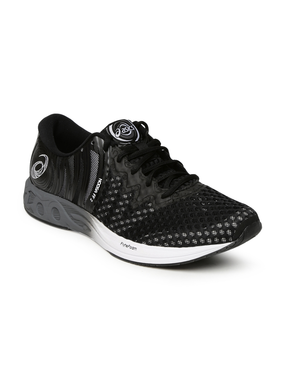 hot sale online 265e4 47d68 ASICS Men Black NOOSA FF 2 Running Shoes