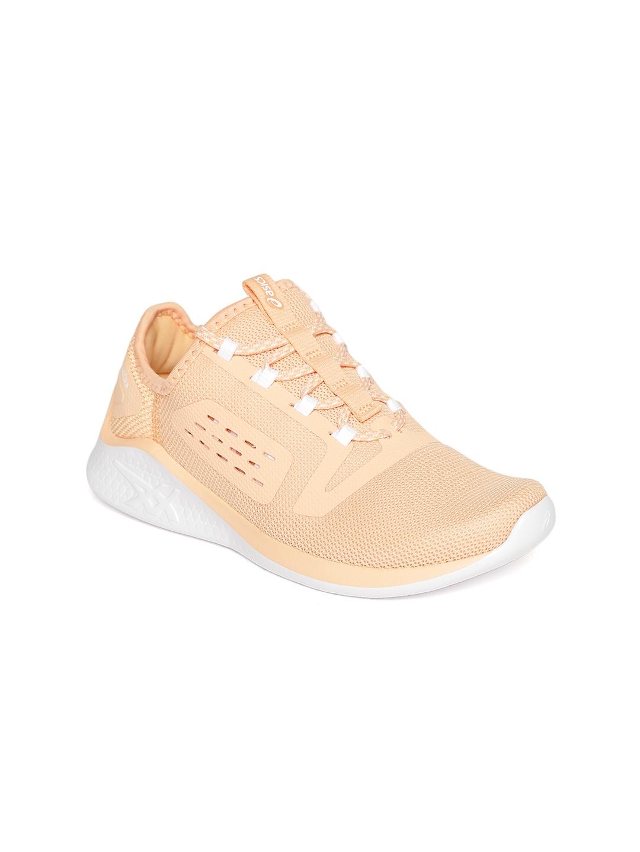 Peach Coloured FuzeTORA Running Shoes