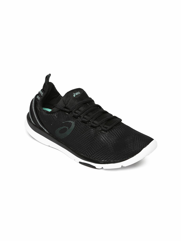 821f776da368 Buy ASICS Women Black Training Shoes GEL FIT SANA 3 - Sports Shoes ...