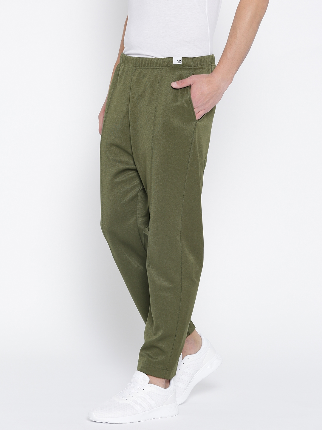 38225fce35c5 Buy ADIDAS Originals Men Olive Green XBYO Track Pants - Track Pants ...