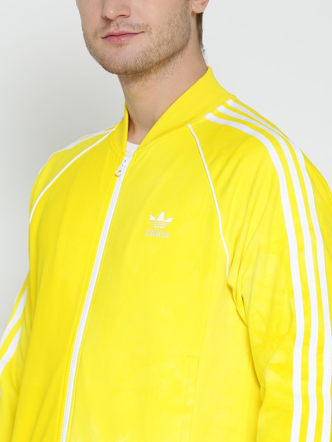 040b137c04ba6 Buy ADIDAS Originals Men Yellow HU HOLI SSTR TT Jacket - Jackets for ...