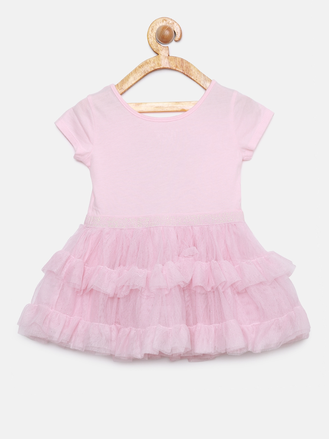 0b30cc51 Buy The Childrens Place Girls Pink Fit And Flare Dress - Dresses for ...