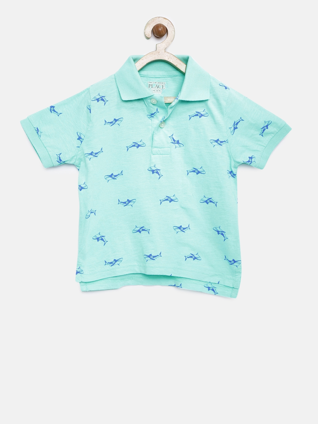 The Childrens Place Boys Print Polo