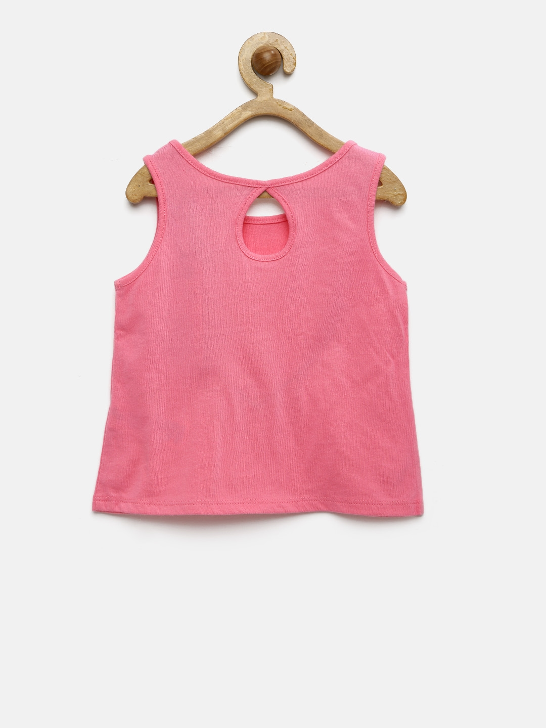 438c53c9bab57 Buy The Childrens Place Girls Pink Printed Tank Top - Tops for Girls ...