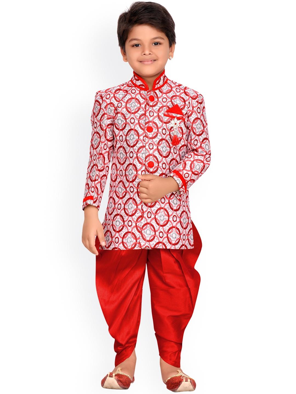 f2468e97415d Buy AJ Dezines Baby Boys Indo Western Sherwani Suit For Kids ...
