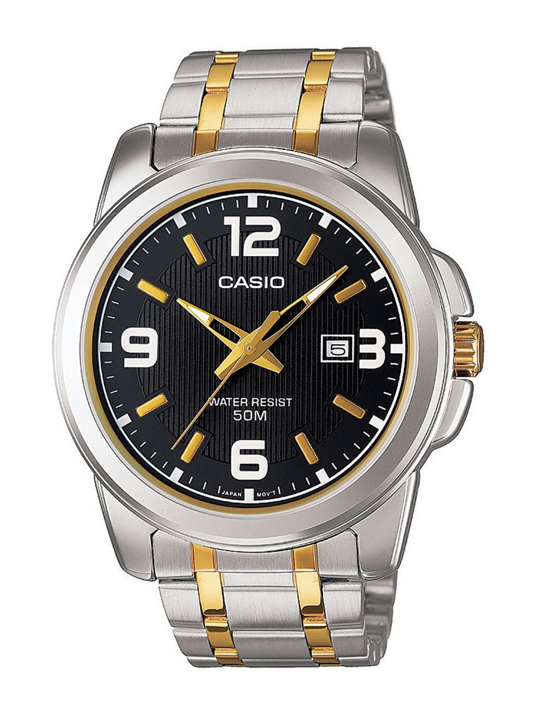 Casio Enticer Men Black Analogue watch A777 MTP 1314SG 1AVDF