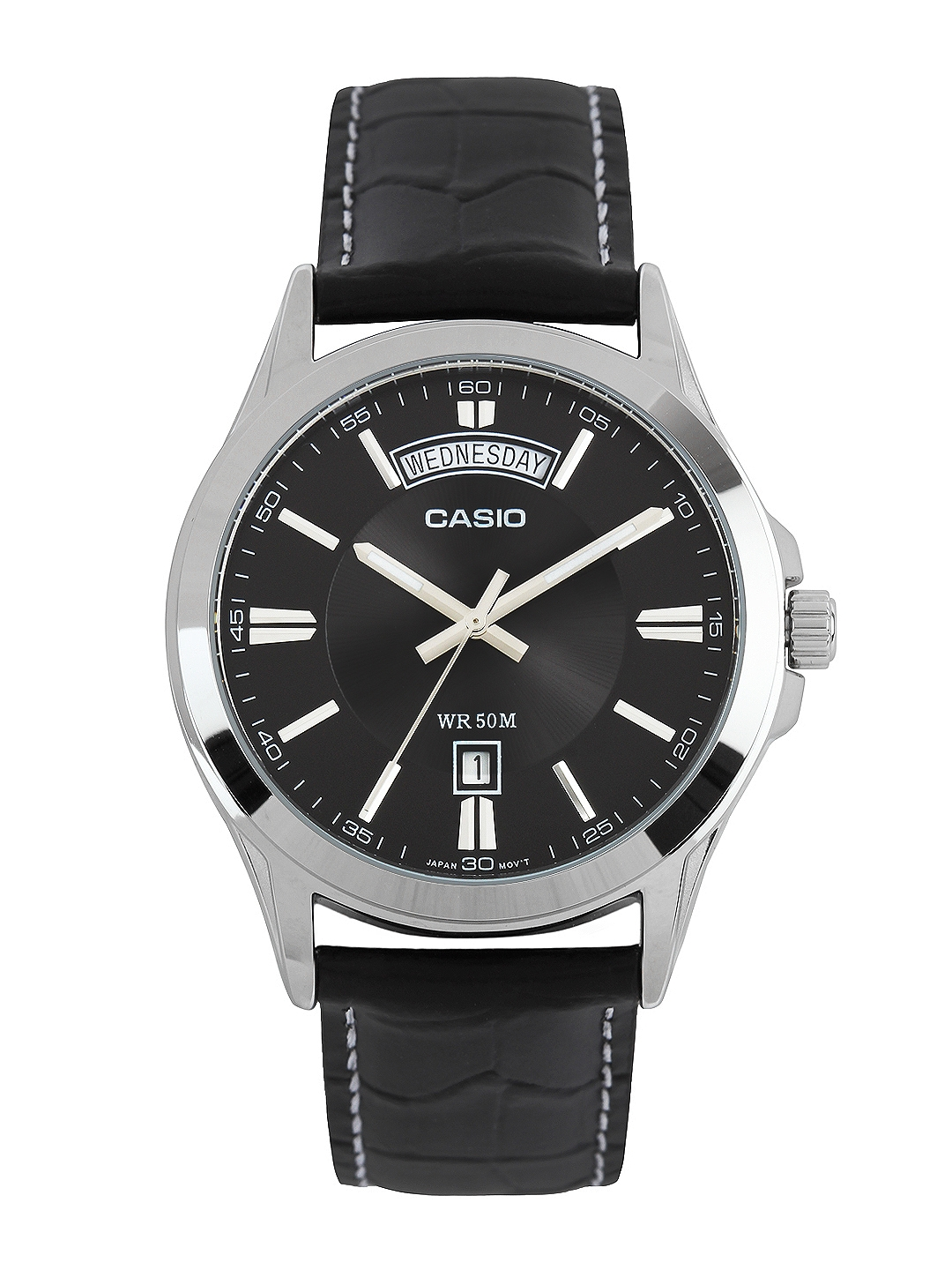 Casio Enticer Men Black Analogue watch A844 MTP 1381L 1AVDF