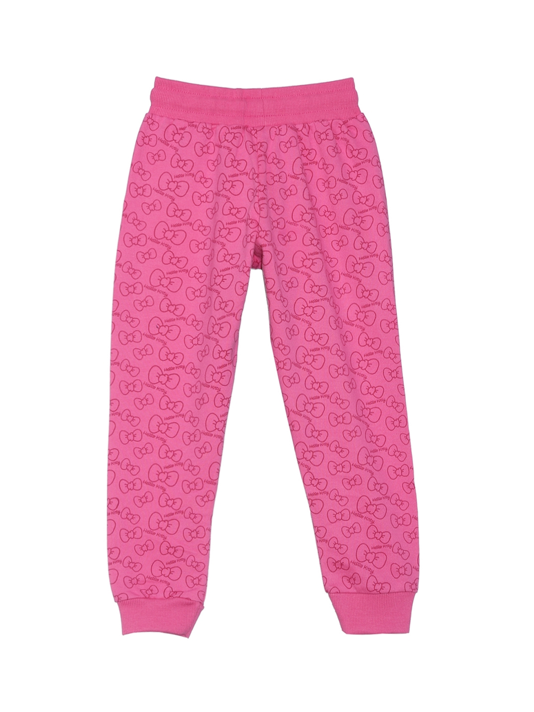 e81d28ce0 Buy Hello Kitty By Kidsville Girls Pink Joggers - Track Pants for ...