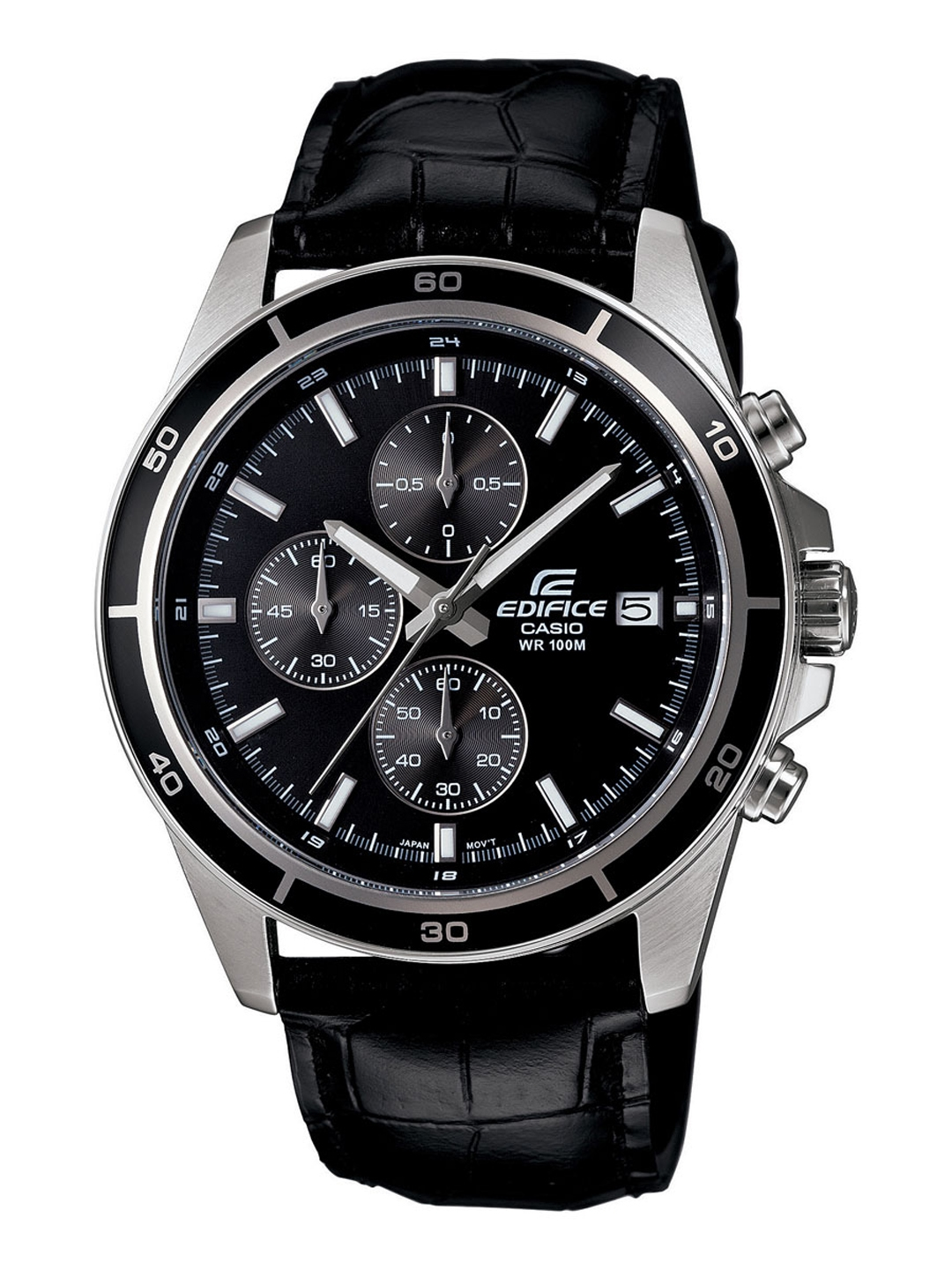 Casio Edifice Men Black Analogue watch EX096 EFR 526L 1AVUDF