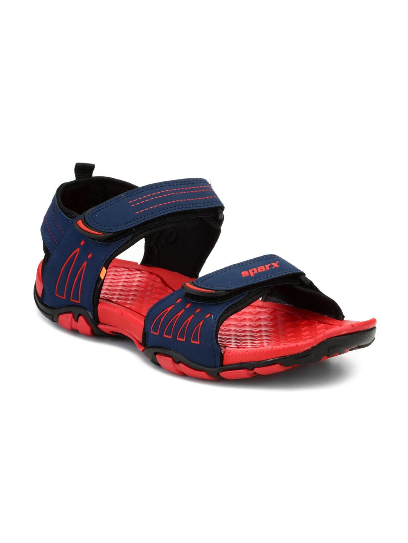 Buy Sparx Men Navy Blue \u0026 Red Comfort