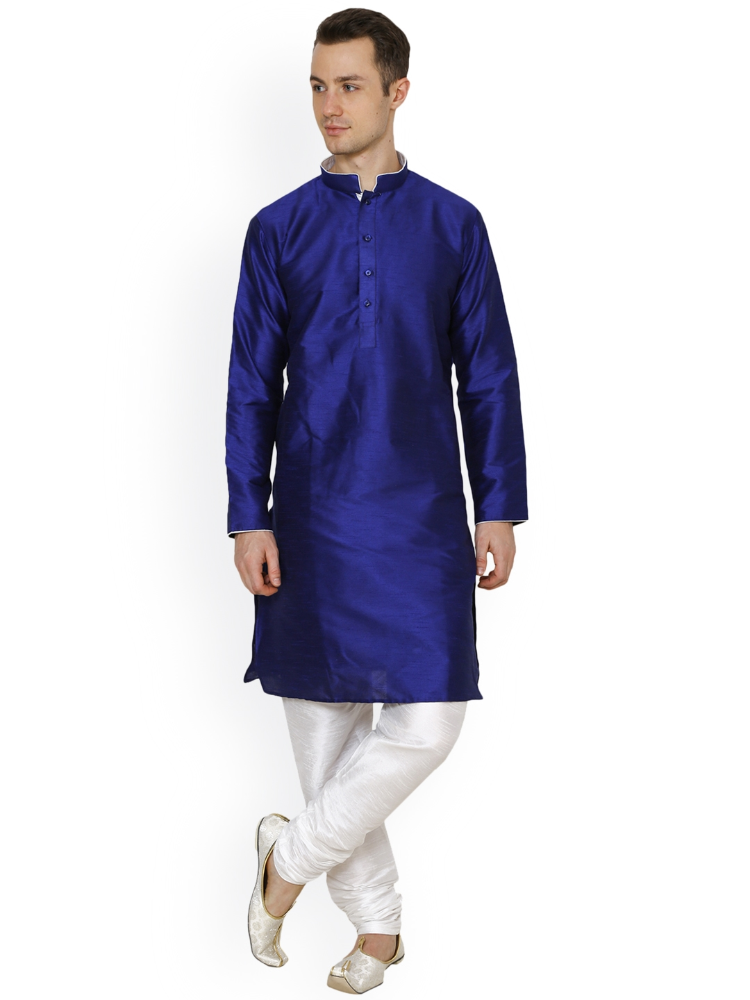 064da578e2 Buy Royal Kurta Men's Dupion Silk Kurta Pyjama Set - Kurta Sets for ...