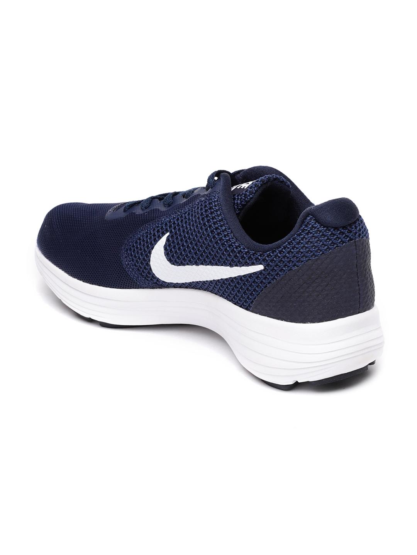 d2fff0428e0 Buy Nike Men Navy Revolution 3 Running Shoes - Sports Shoes for Men ...