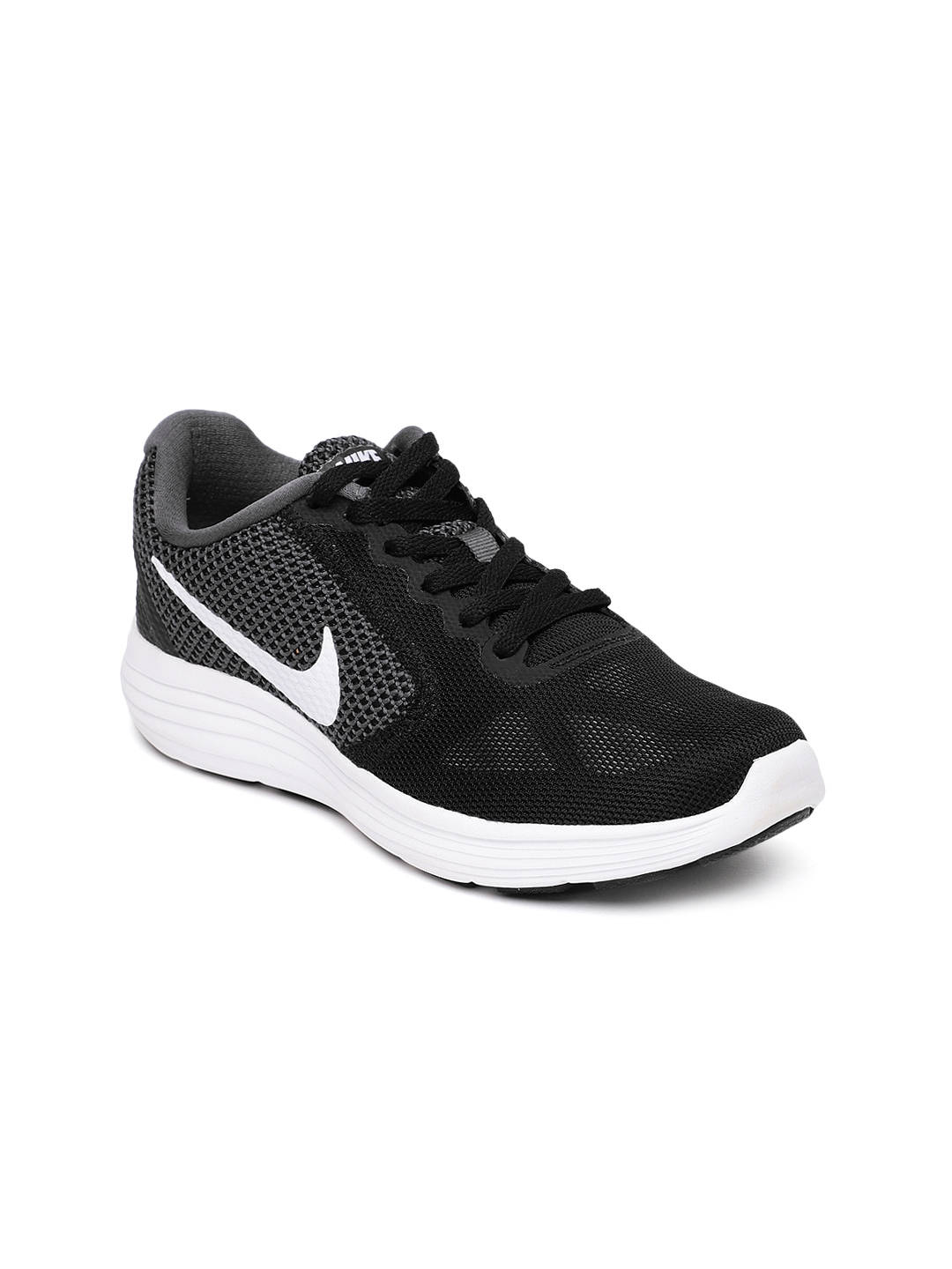 917af027519 Buy Nike Women Black Revolution 3 Running Shoes - Sports Shoes for ...