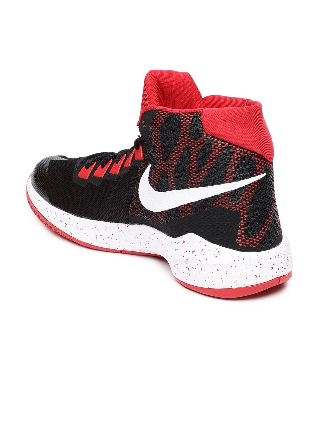 2dd0d8a54c69 Buy Nike Men Red   Black Zoom Devosion Basketball Shoes - Sports ...