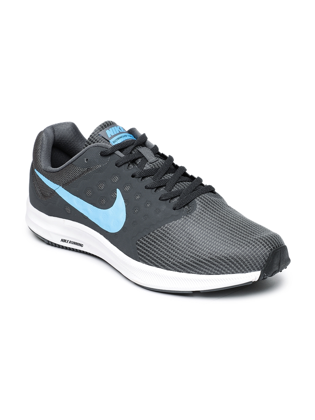 premium selection d8fdf 796cd Nike Men Charcoal Grey Downshifter 7 Running Shoes