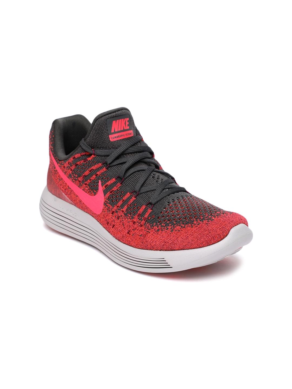 7a1226f058e24 Buy Nike Women Red   Black LunarEpic Low Flyknit 2 Running Shoes ...