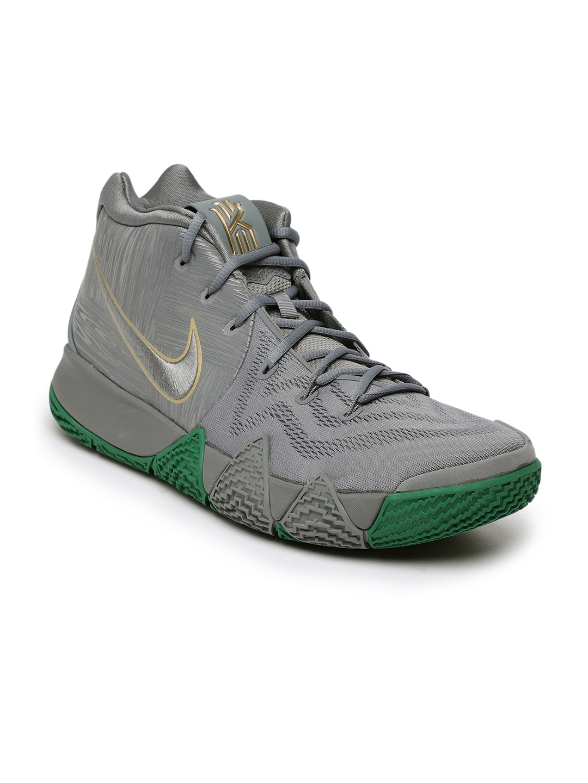 wholesale dealer 87cf7 12626 Nike Men Grey Kyrie 4 Basketball Shoes