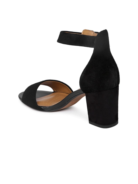 89c637b19c68 Buy Clarks Women Black Solid Deva Mae Suede Heels - Heels for Women ...