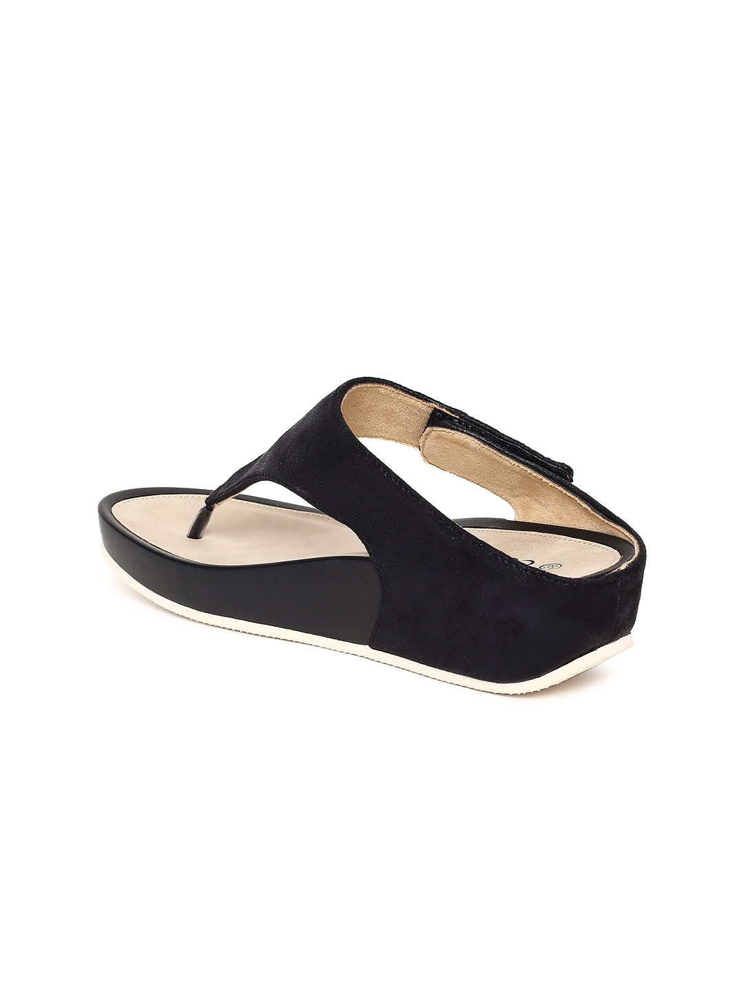 e3e5e717825a Buy CODE By Lifestyle Women Black Solid Sandals - Heels for Women ...