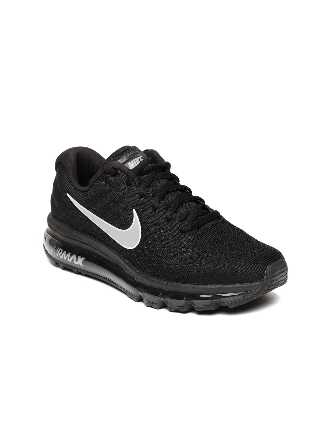 half off 13a75 4bfc4 Buy Nike Women Black Air Max 2017 Running Shoes - Sports Shoes for ...