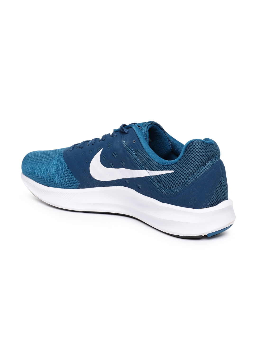 198232f46f5f Buy Nike Men Blue Downshifter 7 Running Shoes - Sports Shoes for Men ...