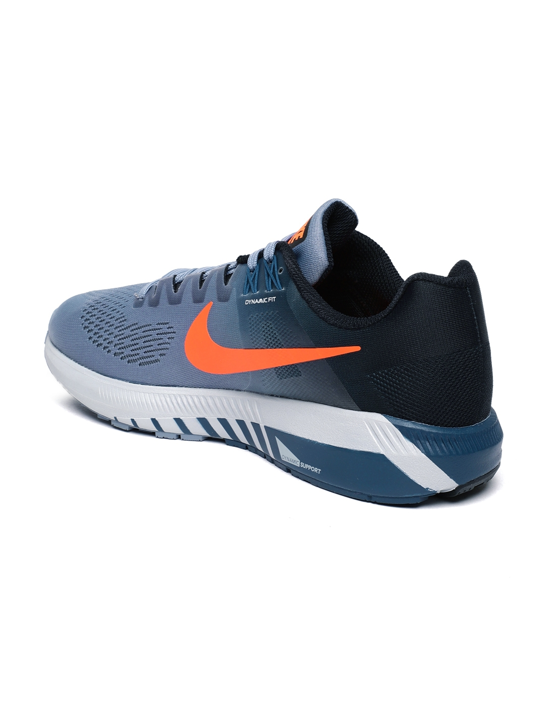 8fc869477090 Buy Nike Men Blue   Black Air Zoom Structure 21 Running Shoes ...