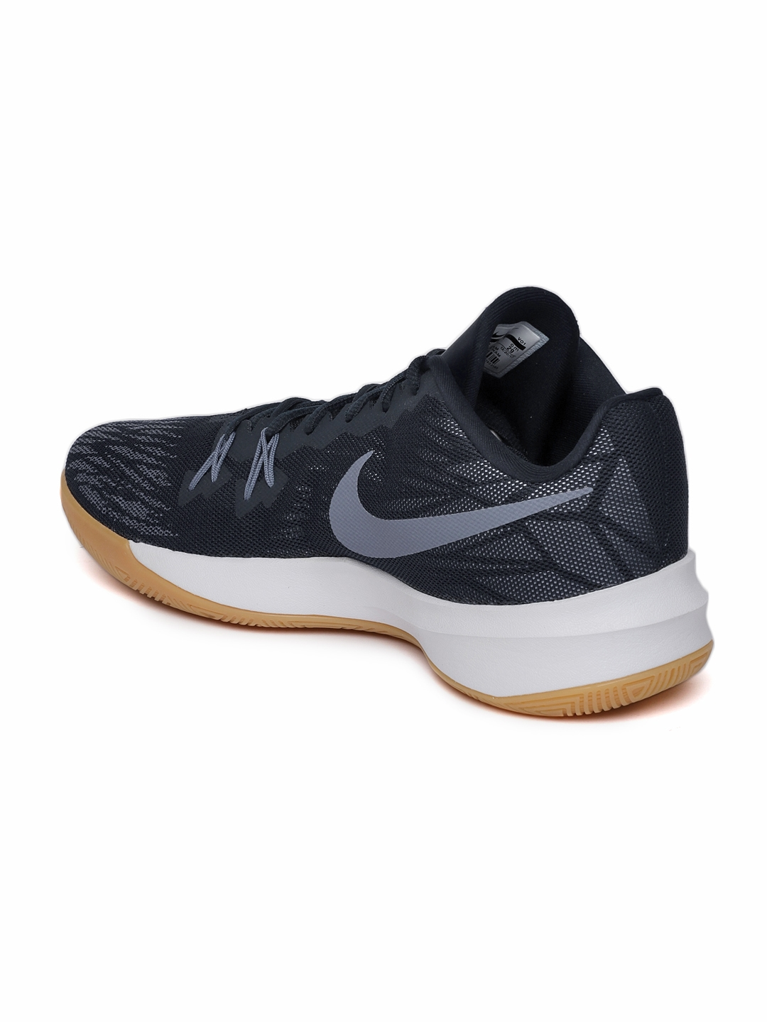 e0d1626ab443 Buy Nike Men Navy ZOOM EVIDENCE II Basketball Shoes - Sports Shoes ...