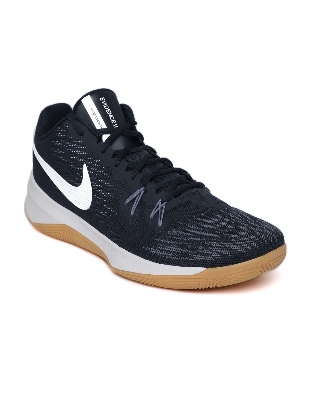 1f3e191111cd Buy Nike Men Navy ZOOM EVIDENCE II Basketball Shoes - Sports Shoes ...