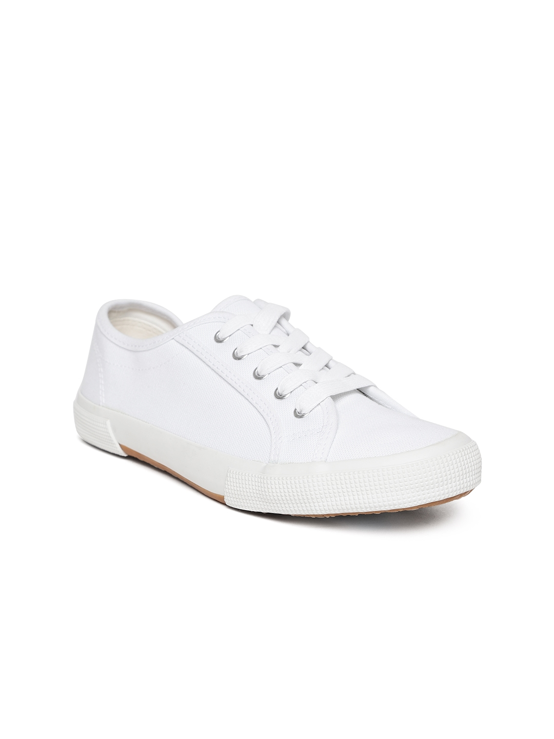White Sneakers - Casual Shoes for Women