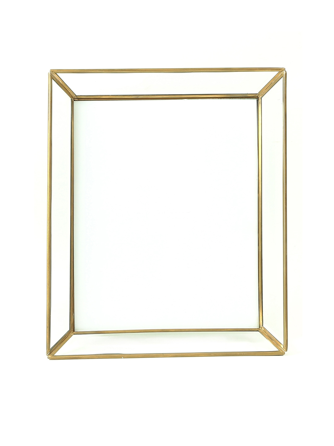 Buy HOME DECOR INDIA Clear Glass Gold & Black Cliding Photo Frame ...