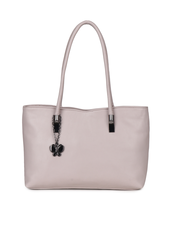 Butterflies Pink Solid Shoulder Bag