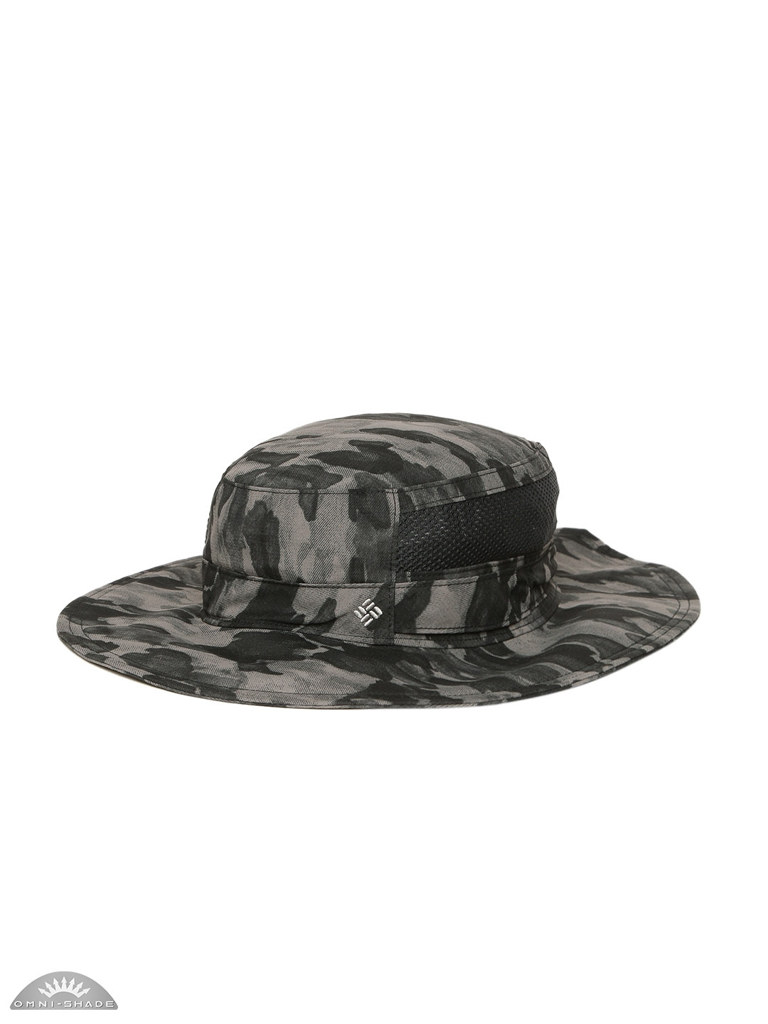 2da958cb949 Buy Columbia Unisex Grey   Black Bora Bora Print Booney Floppy Hat ...