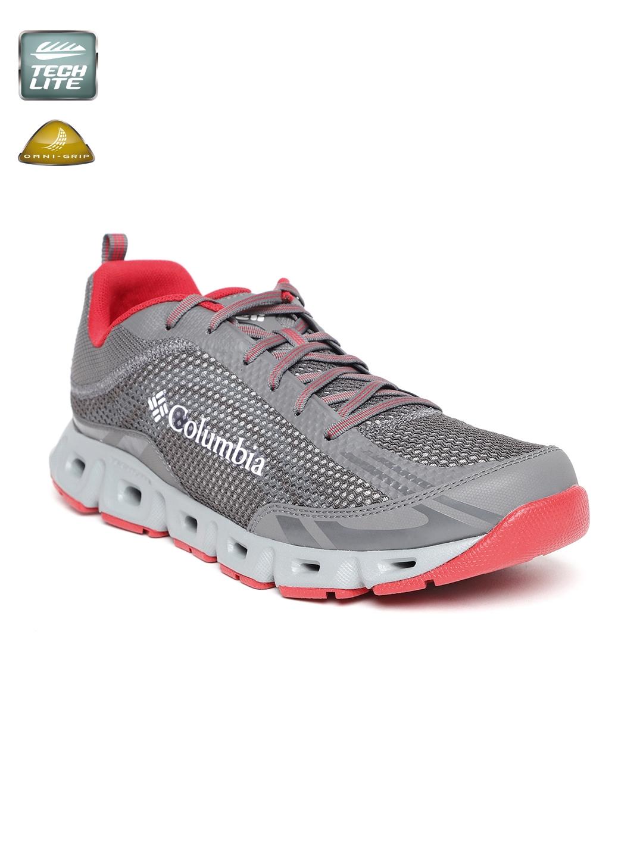 edb90766cccb Buy Columbia Men Grey DRAINMAKER IV Running Shoes - Sports Shoes for ...