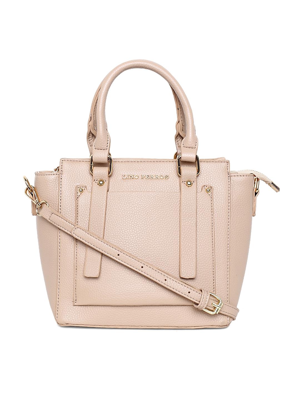 2158b59481f Buy Lisa Haydon For Lino Perros Beige Solid Handheld Bag With Sling ...