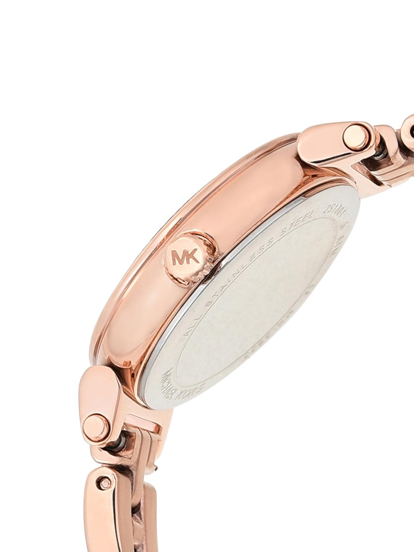 93c5bc1f7b0e Buy Michael Kors Women Blue   Gold Toned Analogue Watch - Watches ...