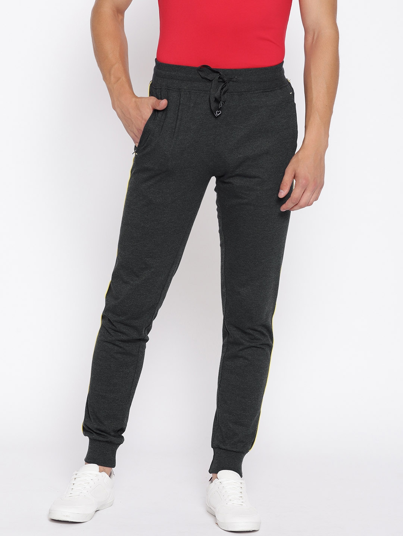 629b9e745e937a Buy Sweet Dreams Men Charcoal Grey Joggers - Track Pants for Men ...