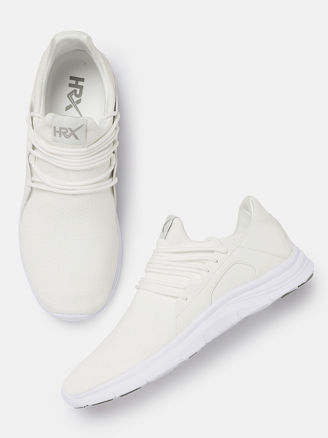 6fa32f146 Buy HRX By Hrithik Roshan Men White Pro Sneakers - Casual Shoes for ...
