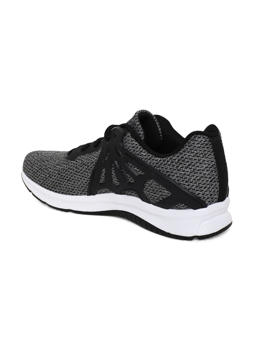 6a86ceb06 Buy Reebok Men Grey   Black Hex Lite Running Shoes - Sports Shoes ...