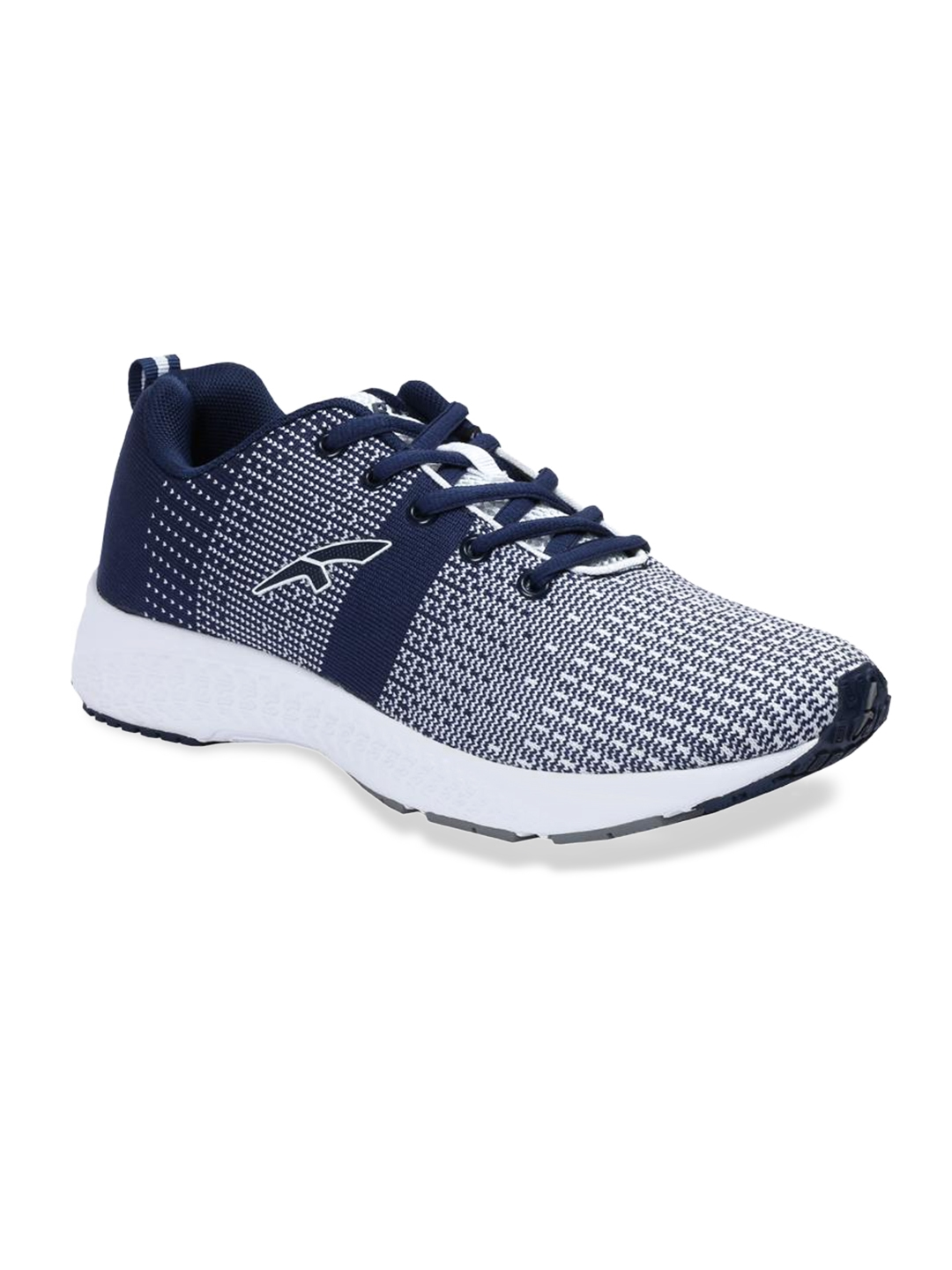 ee0fb4e6e27 FURO by Red Chief Men Navy Blue Mesh Mid-Top Running Shoes R1013 NAVY GREY