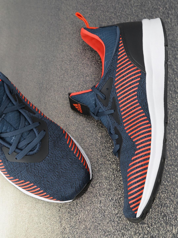 Orange TYLO Printed Running Shoes