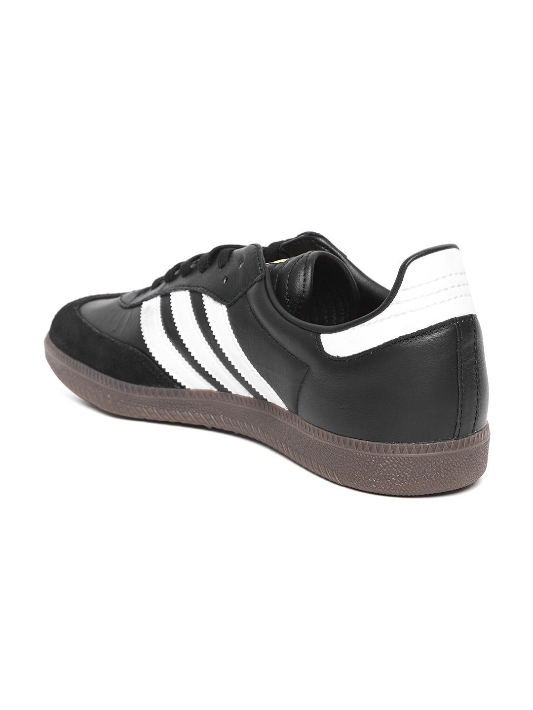 timeless design a0c8c 8e168 ADIDAS Originals Men Black SAMBA FB Sneakers