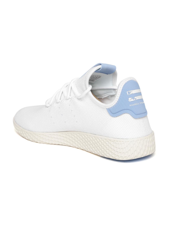 730e4e9ab0716 Buy ADIDAS Originals Men White PW Tennis HU Woven Design Sneakers ...