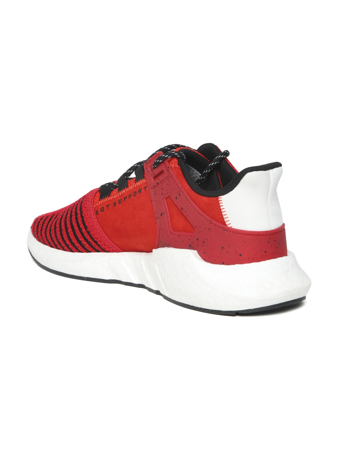 free shipping c94cb dd957 ADIDAS Originals Men Red EQT Support 9317 Woven Design Sneakers