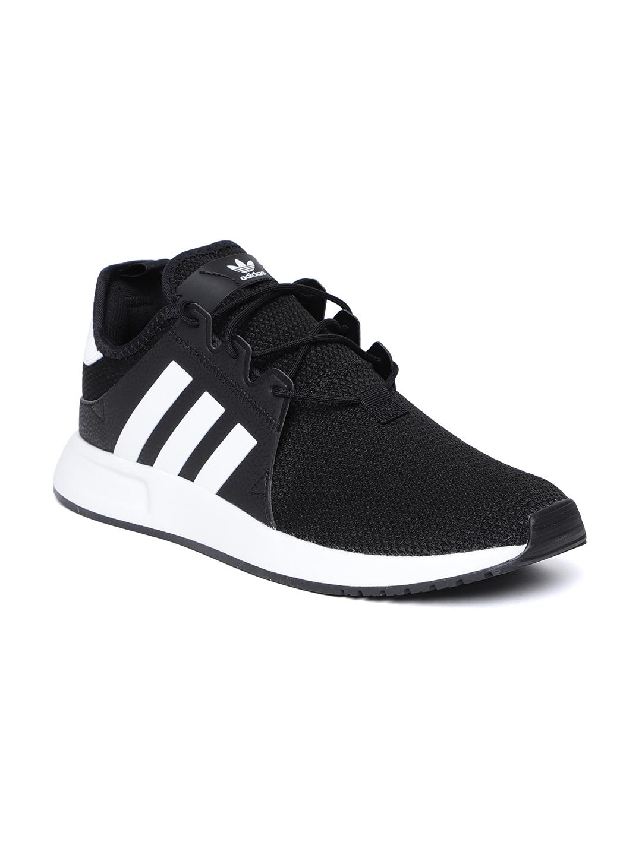 Black \u0026 White X_PLR Casual Shoes