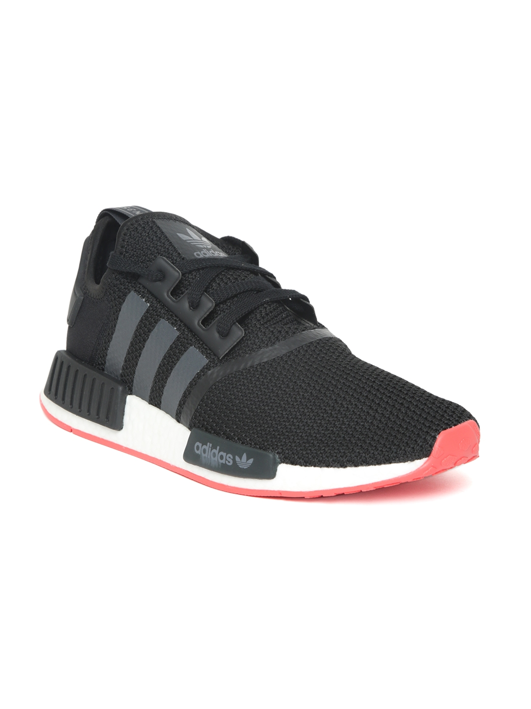 e1a701849a858 Buy ADIDAS Originals Men Black NMD R1 Woven Design Sneakers - Casual Shoes  for Men 3092539