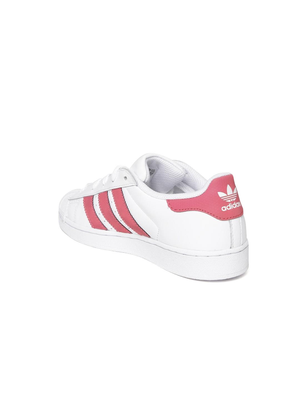 6a0731f6b140 Buy ADIDAS Originals Unisex White Superstar Junior Leather Sneakers ...