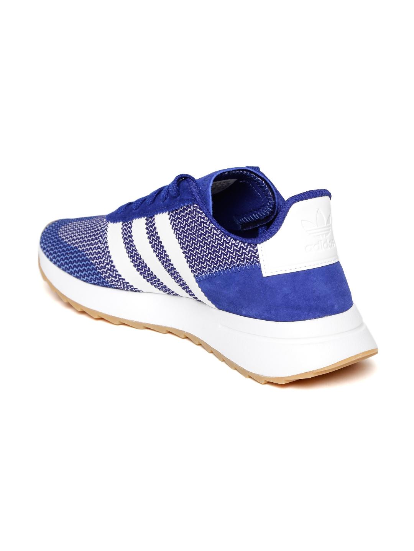 23068f02d Buy ADIDAS Originals Women Blue FLB Runner Woven Design Sneakers ...