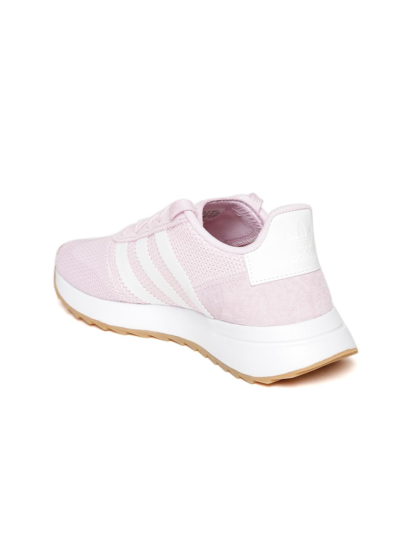 7f3a0a7f3108 Buy ADIDAS Originals Women Pink FLB Runner Woven Design Sneakers ...