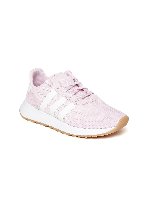 97978727e Buy ADIDAS Originals Women Pink FLB Runner Woven Design Sneakers ...